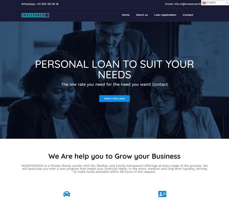 Investoren-website-design-and-development