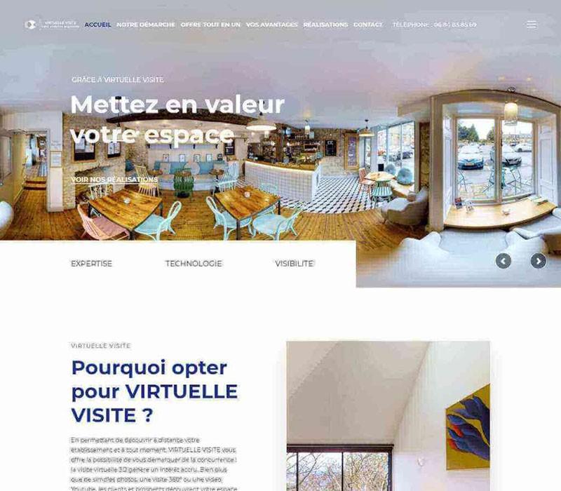 WordPress Theme Customization Virtuelle Visite